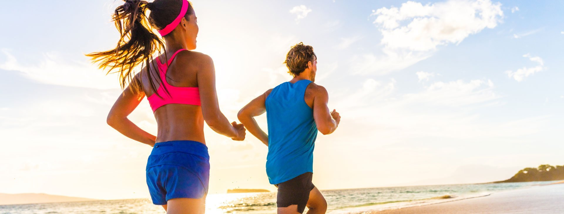 The Anti-Aging Guidebook: Man and Woman Running