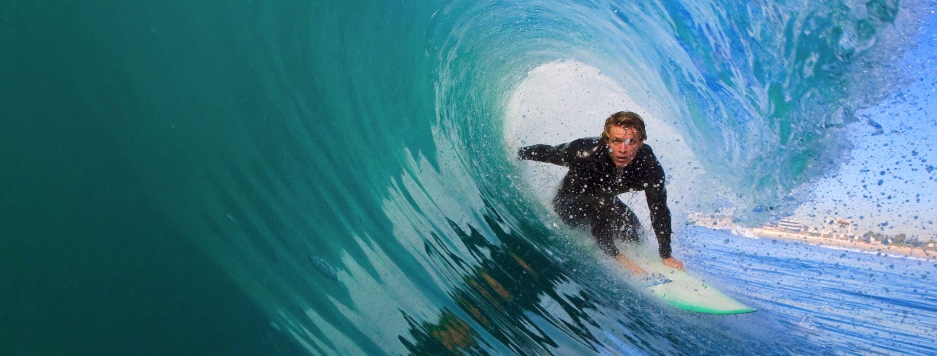 Surfer using Sunsafe Rx