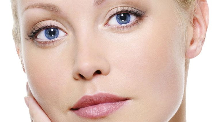 Woman With Clear Healthy Skin